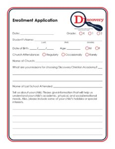 File the Application - Private School Newbury Park